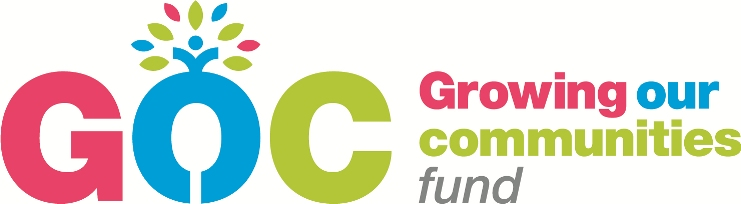 ALL GOLDS RECEIVE £1900 FROM THE GROWING OUR COMMUNITIES FUND