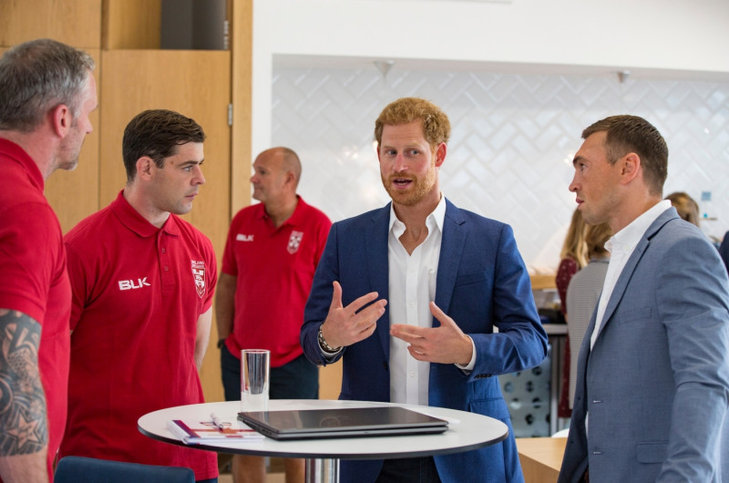 HRH THE DUKE OF SUSSEX TO ATTEND CORAL CHALLENGE CUP FINAL