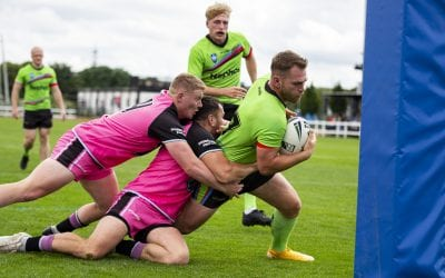 CLUB RECORD LOSS AS COUGARS MAUL ALL GOLDS